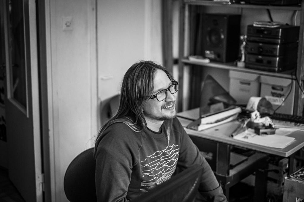 Kyösti Ylikuljun mielestä on mahtavaa, että Jyväskylän kulttuuritoimijoiden välillä on yhteinen tekemisen meininkin.